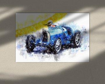 Bugatti 35 von Theodor Decker