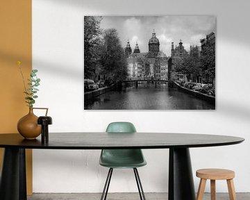 Oude Zijds Achterburgwal, Amsterdam von Harry van Rhoon