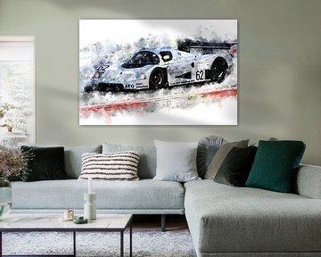 Sauber Mercedes, Gruppe C, Jochen Mass von Theodor Decker