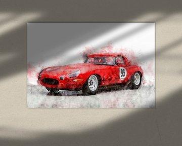 Jaguar E-Type Lightweight von Theodor Decker