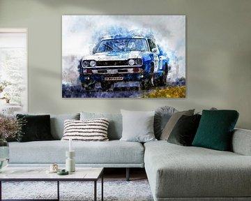 Ford Capri 2600RS, Hans-Joachim Stuck von Theodor Decker