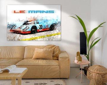 Porsche 917 Le Mans von Theodor Decker