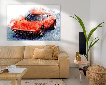 Lancia Stratos von Theodor Decker