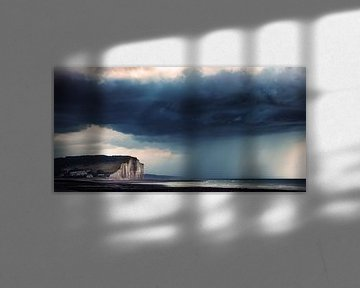 stormachtige kust van Johan Strijckers