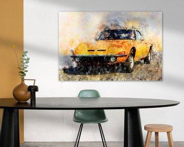 Opel GT von Theodor Decker