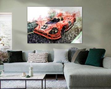 Porsche 917 Pink Pig von Theodor Decker