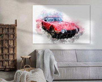 Toyota 2000GT von Theodor Decker