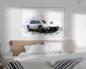 Toyota 2000 GT von Theodor Decker