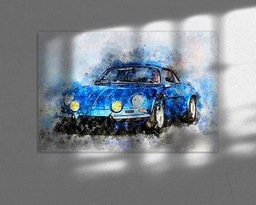 Renault Alpine A110 van Theodor Decker