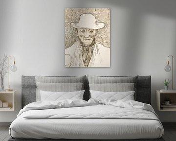 Vincent van Gogh. Einwohner der Camargue