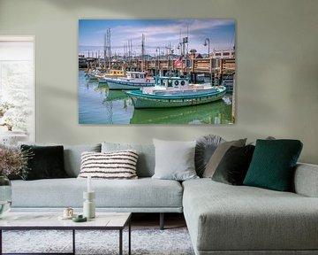Klassieke vissersbooten van Bert Nijholt