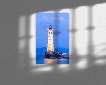 Leuchtturm in Lindau am Bodensee von Jan Schuler