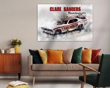 Clare Sanders, Ramchargers mit Titel von Theodor Decker