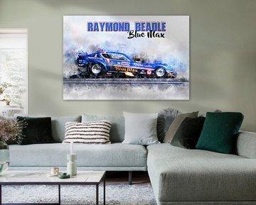 Raymond Beadle, Blue Max mit Titel von Theodor Decker