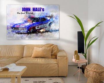 John Hale's, Texan mit Titel von Theodor Decker