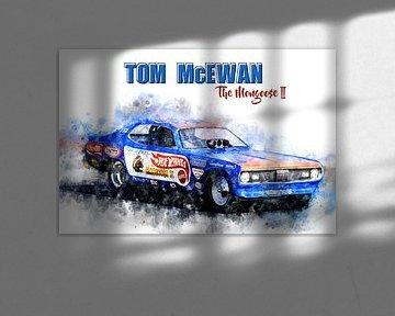 Tom McEwen, The Mongoose 2 mit Titel von Theodor Decker