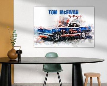 Tom McEwen, The Mongoose mit Titel von Theodor Decker