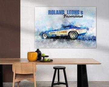 Roland Leong's, Hawaiian mit Titel von Theodor Decker