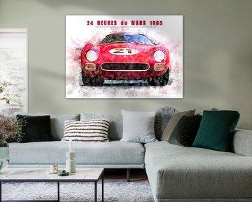 Ferrari 250LM, Le Mans Sieger 1965 von Theodor Decker