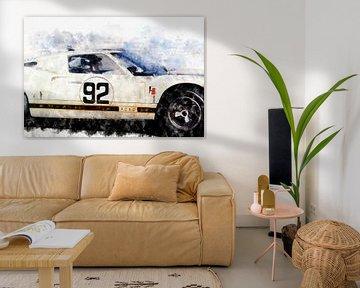 Ken Miles, Ford GT40 von Theodor Decker