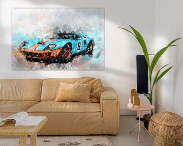 Ford GT40 von Theodor Decker