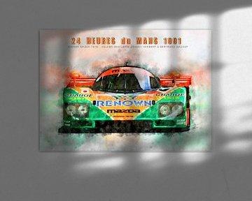 Mazda 787B, Le Mans Sieger 1991 von Theodor Decker