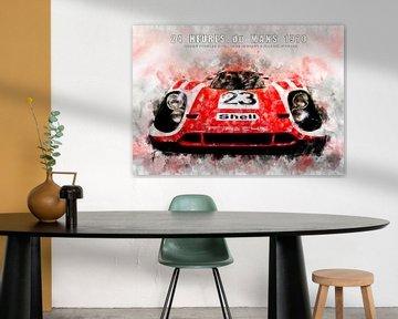 Porsche 917K, Le Mans Sieger 1970 von Theodor Decker