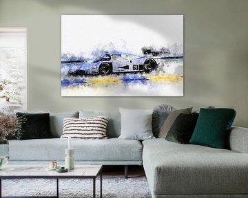 Sauber Mercedes C9 von Theodor Decker