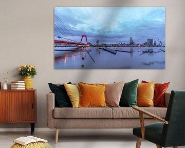 Willemsbrug Rotterdam van AdV Photography