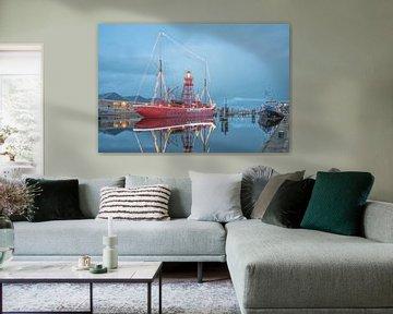Lichtschip Texel in Den Helder