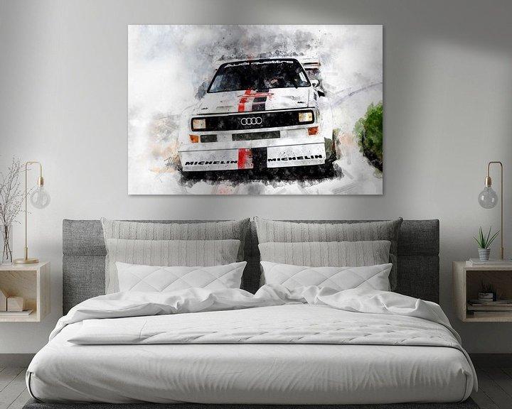Beispiel: Audi Quattro von Theodor Decker
