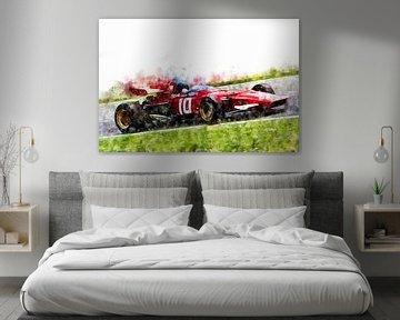 Jacky Ickx, Ferrari van Theodor Decker