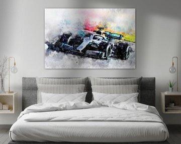 Lewis Hamilton, 2019 von Theodor Decker