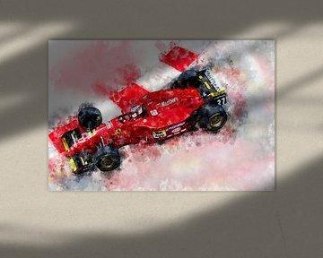 Jean Alesi, Ferrari von Theodor Decker