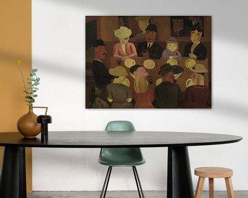 Die Muschelfresser, Gust de Smet (1923) von Atelier Liesjes