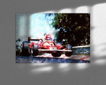 Niki Lauda, Ferrari Jump von Theodor Decker
