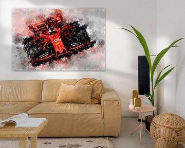 Vettel, Ferrari 2019 von Theodor Decker