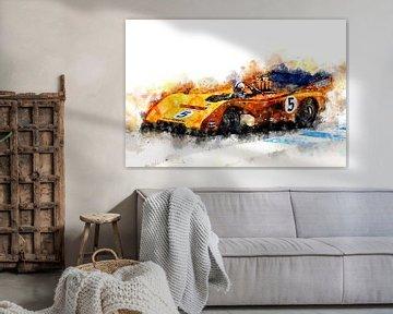 Denny Hulme, McLaren, Can Am sur Theodor Decker