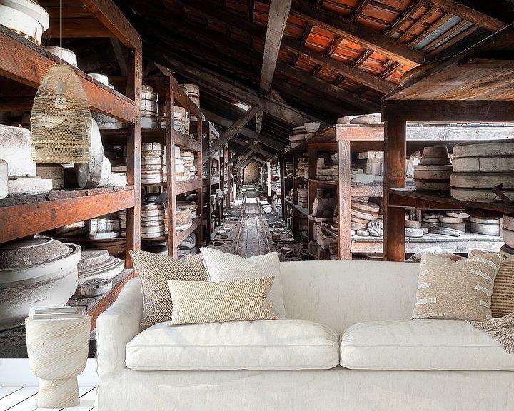 Beispiel fototapete: Verlassene Keramikfabrik. von Roman Robroek