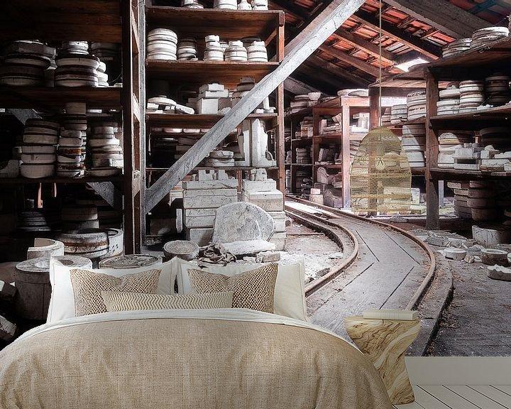 Impression: Usine de céramique abandonnée. sur Roman Robroek
