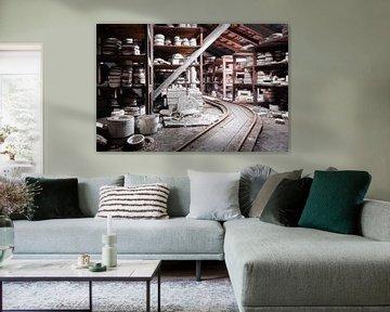 Verlaten Keramiek Fabriek. van Roman Robroek