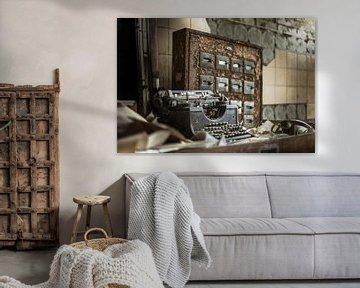 Adler-Schreibmaschine von Olivier Photography