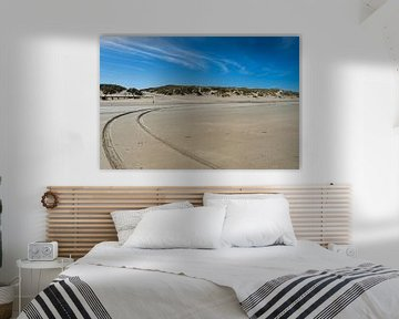 Strand van Vlieland van Dylan Bakker