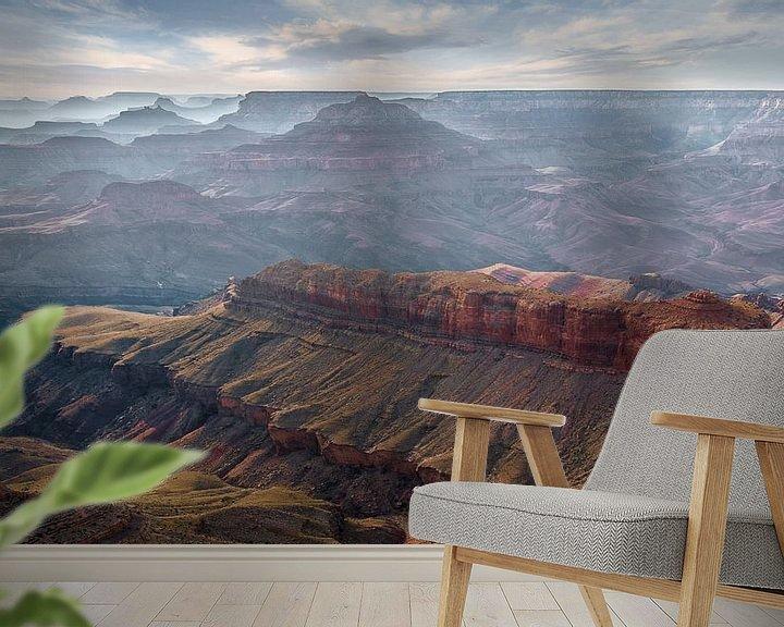 Sfeerimpressie behang: 0696 Grand Canyon van Adrien Hendrickx