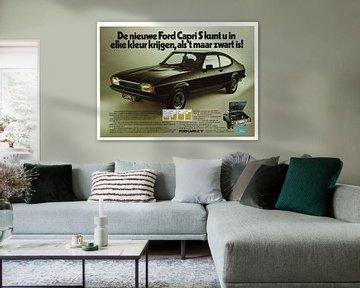 Ford Capri S reclame van Jaap Ros