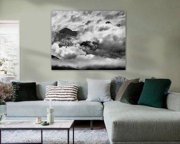 Wolken über dem Wanakasee von Keith Wilson Photography