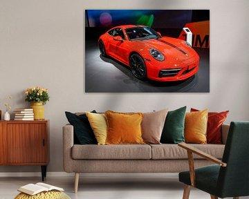 Sportwagen Porsche 911 Carrera 2 Coupé (Serie 992) von Sjoerd van der Wal