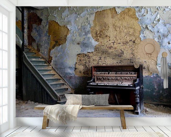 Beispiel fototapete: Altes Klavier, altes Klavier, von Chantal Golsteijn