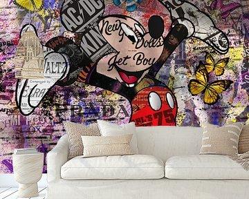 Mickey Mouse van Rene Ladenius Digital Art