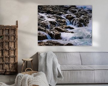 Mini waterfalls van Thomas Hofman